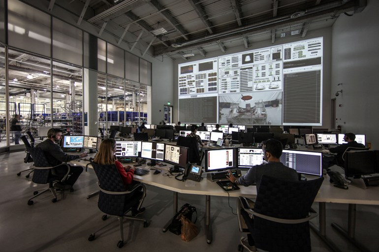 SpaceX Mission Control in Hawthorne CA 1